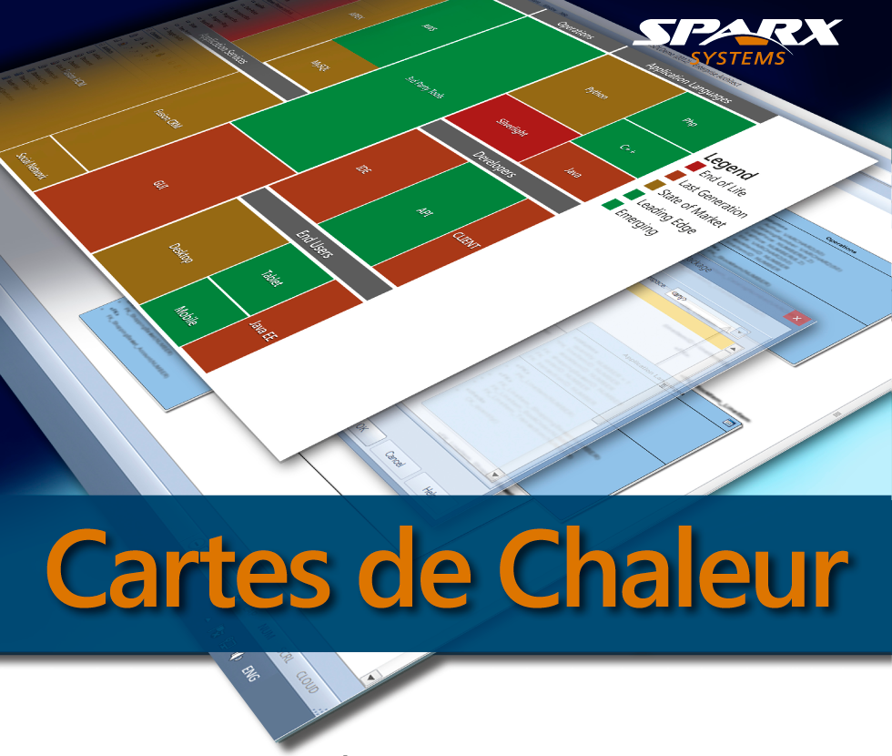 Carte de Chaleur dans Enterprise Architect