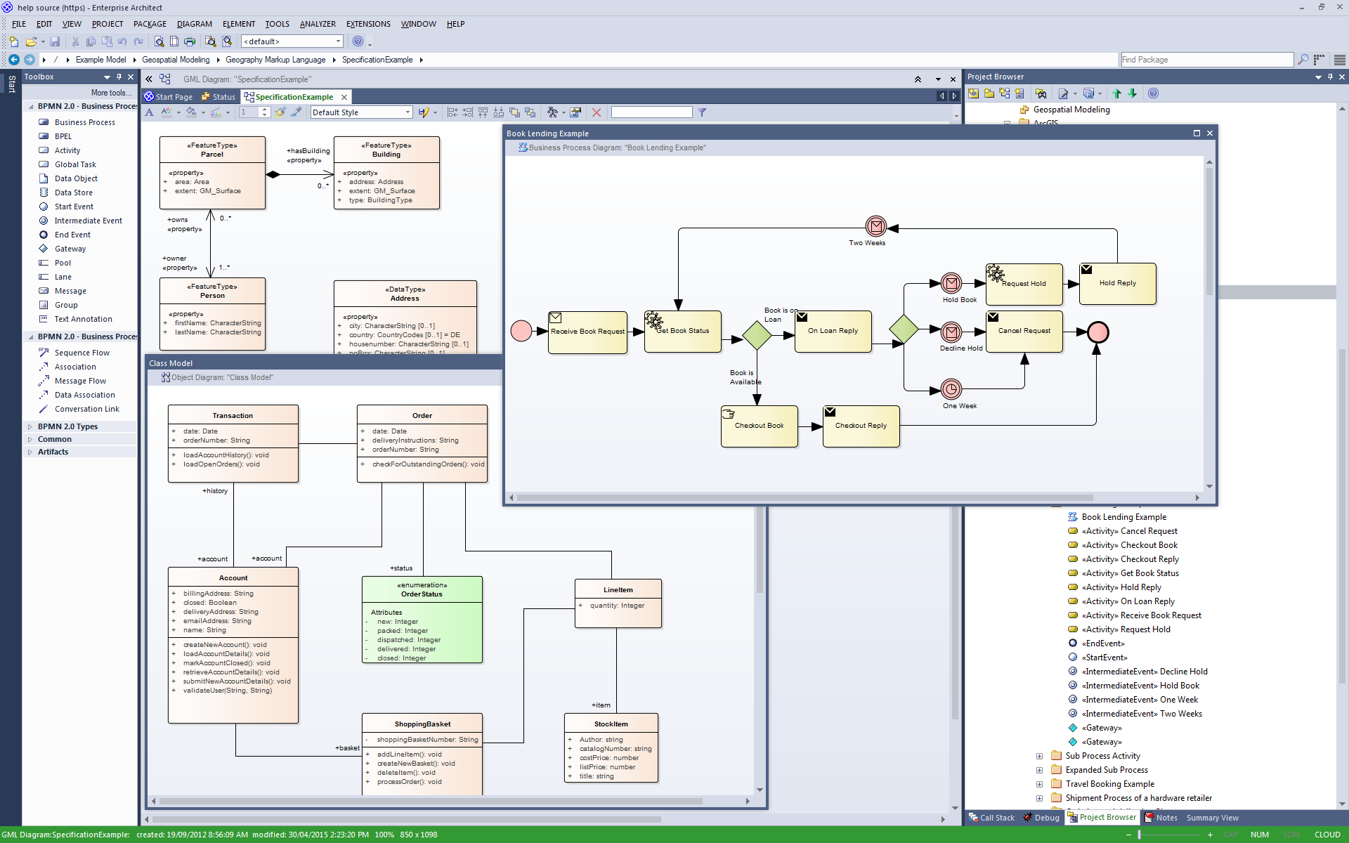 Visual Modeling with Enterprise Architect