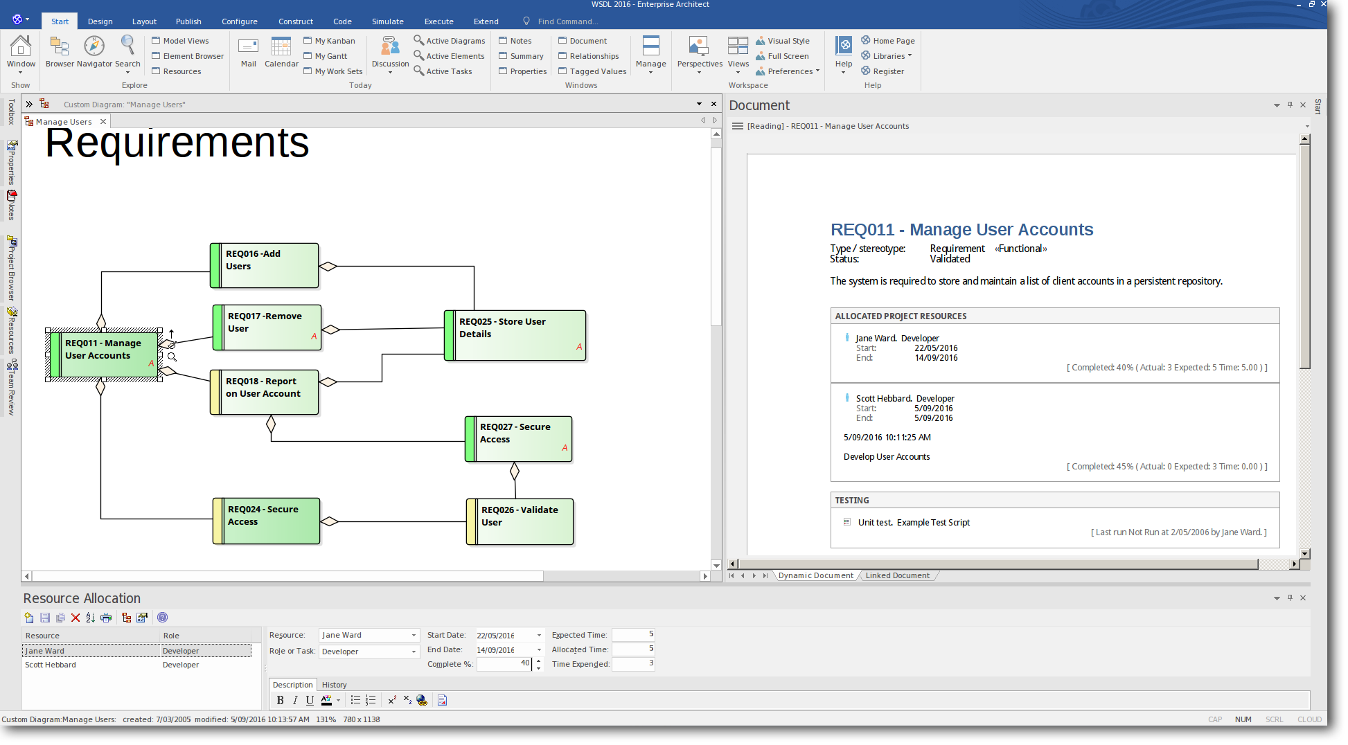 Enterprise Architect 13 Beta: Dynamic Documents