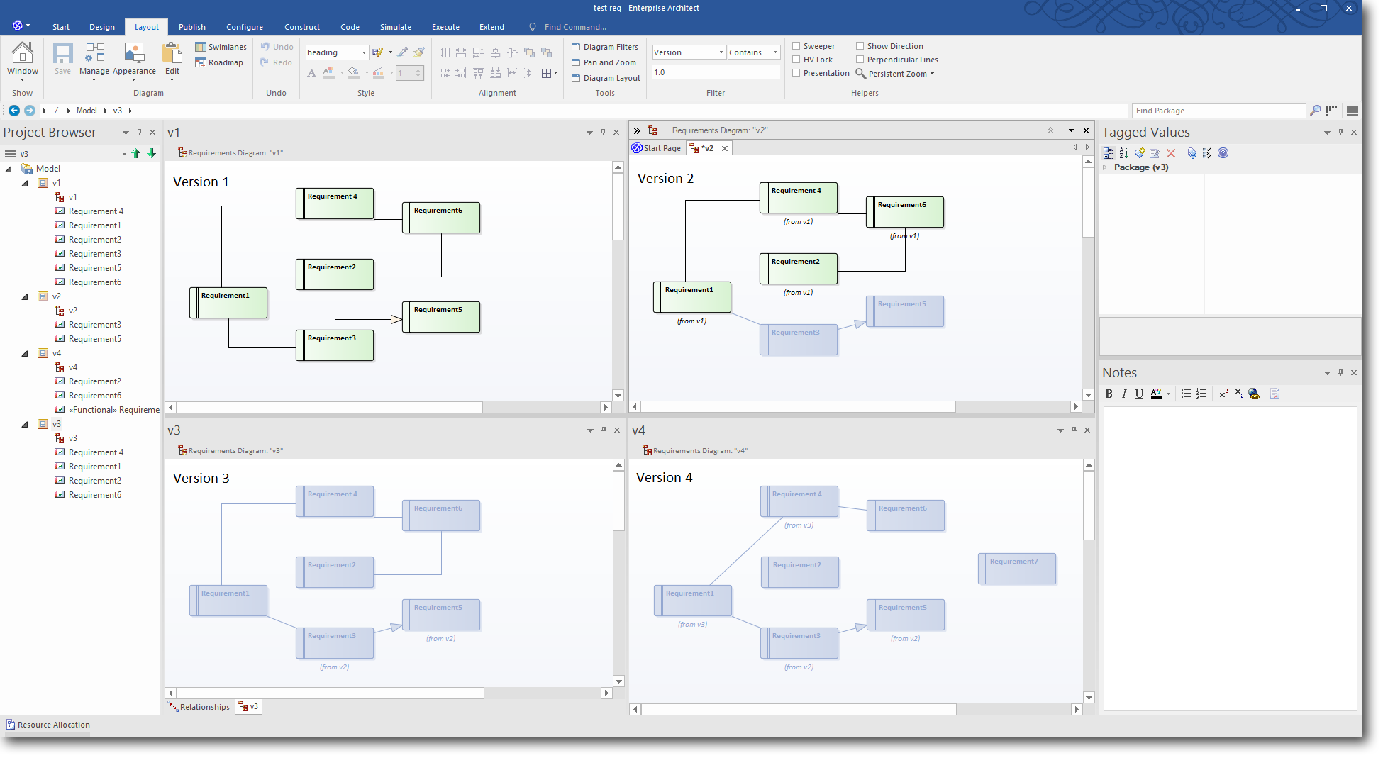 Enterprise Architect 13.5 Beta: Time Aware Modeling