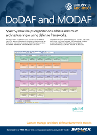 DoDAF ET MODAF AVEC Enterprise Architect