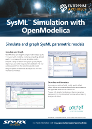 SysML Simulation avec OpenModelica